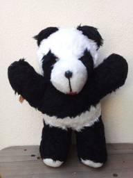 Título do anúncio: Ursinho Panda De Pelúcia - Anos 80 - 30 cm - Coleção Bixim De Pelúcia Tabacow