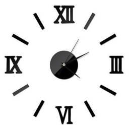 <br>Relógio de Parede de luxo romano 3D-