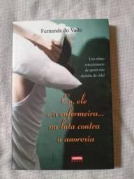 Livro Eu, ele e a enfermeira. na luta contra a anorexia