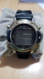 Relógio Citizen Aqualand Antigo Hiper D203 (Precisa Trocar Bateria)