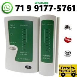 Título do anúncio: Testador Cabo Rede Rj45 Rj11 Telefone Crimpagem M0002 (NOVO)