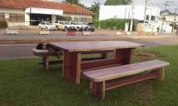 Lindas mesas de pequi e roxinho para seu sítio
