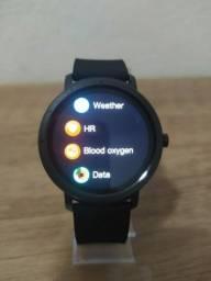 Título do anúncio: Smartwatch relógio inteligente masculino redondo