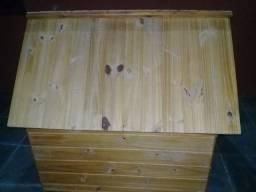 Casinha de cachorro (madeira) Nº 6