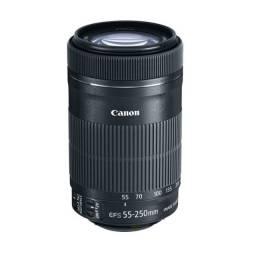 Título do anúncio: Lente Canon EF-S 55-250mm F/4-5.6 IS stm