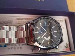 Relógio masculino Quartzo inoxidável
