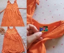 Lote vestidos para menina