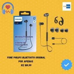 Fone de ouvido Philips bluetooth - Lacrado