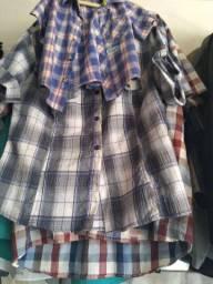 Camisas variadas