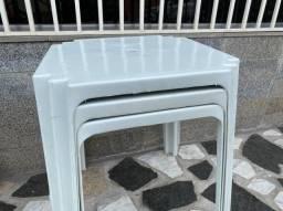 Título do anúncio: Venha já comprar nova mesa no atacado cor branca pra lanchonete