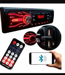 Vendo rádio mp3 automotivo com Bluetooth, controle remoto, entrada usb, cartão de memória.