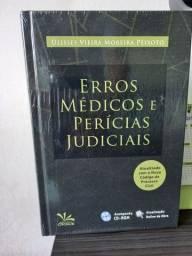 Livro Erros médicos e perícias judiciais<br><br>