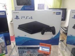 PS4 Slim 500gb. Venha conhecer a maior loja de games do ABC!