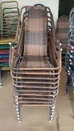 Cadeira fibra de junco
