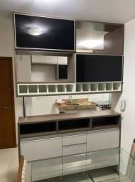 Armário de cozinha MDF amadeirado SEMI-NOVO