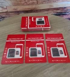 Título do anúncio: Cartão de memória 64gb + adaptador - novo
