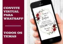 Convite Virtual/Digital - Anápolis GO