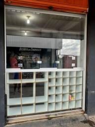 Porta vidro distribuidora + balcão baleiro