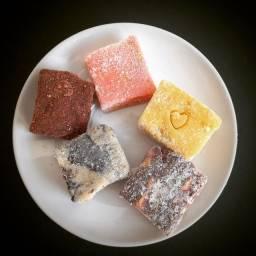 Mini palha italiana gourmet (diversos sabores)