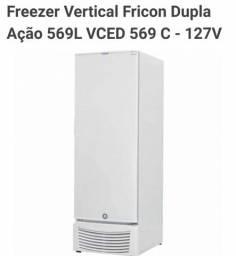 Freezer Vertical Fricon 569 L Econômico