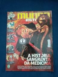 Revista Mundo Estranho História Sangrenta da Medicina 122