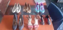 Sapatos, tênis e sapatilha