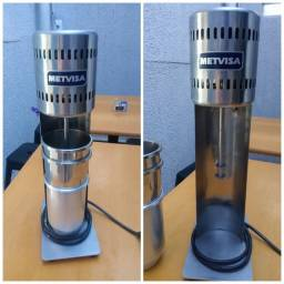 Mixer profissional para milkshakes + 3 copos alumínio