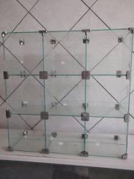 Baleiro em vidro temperado