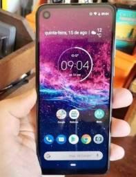 Moto one action 128gb troco em Samsung do mesmo nivel