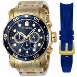 1d686a2bfc0 2 Relógios Invictas Originais e Banhados à Ouro Importados dos EUA.  Legítimos!