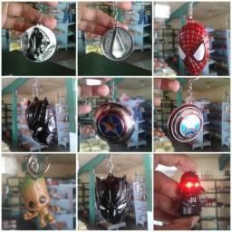 Chaveiros em metal Super Heróis