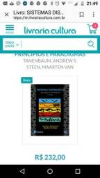 Sistemas Distribuídos princípios e paradigmas 2° edição (excelente estado)