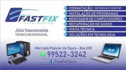 Fast Fix Informática Tijuca - Visitas técnicas e conserto de computadores notebooks e outr