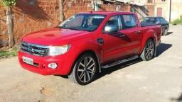 Vendo ford ranger 2013 roda 22 xlt carro de procedência top - 2013