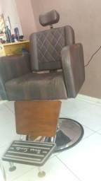 Excelente cadeira para barbeiro