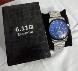 Relógio 6.11 - Eco Drive - Lindo