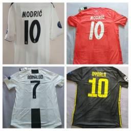 Camisa de clubes versão Torcedor Jogador originais - Futebol. Aceito cartão aedb1f188da5f