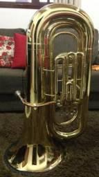 Tuba Sinfônica 4 pistos (modelo J981) Shieffer muito nova!!*baixei o preço pra vender hoje