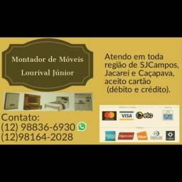 Montador de móveis wastsap988366930 Lourival.*Aceito cartao