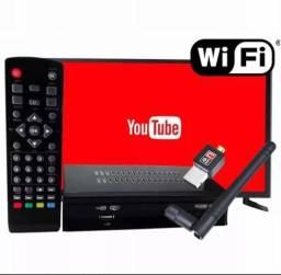 Conversor Digital Tv Tubo Lcd Led Gravador Hdtv Antena Wifi