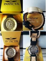 Relógio Invicta Yakuza S1 Dourado