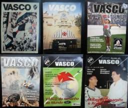 Revistas Oficiais Futebol Vasco da Gama Coleção