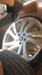 Roda volcano 20 pneus zerados