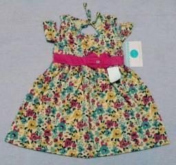 Vestidos infantis (Vestem de 1 a 4 anos)