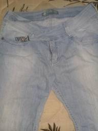 Calça jeans handara tamanho 44 valor 20,00