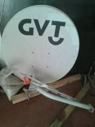 Antena via satélite de 1 metro