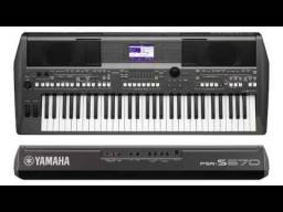 Teclado Yamaha S670 Novo 12x de 320