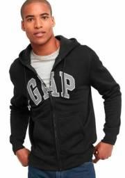 Moletom Gap / blusa de frio com zip e capus