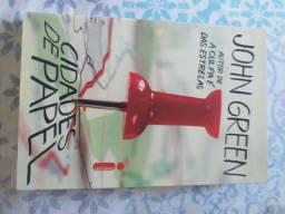 Livro Cidade de Papel - John Green
