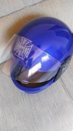 Venda de capacete novo